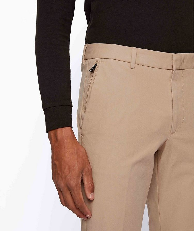 Slim Fit Travel Stretch-Twill Pants image 3