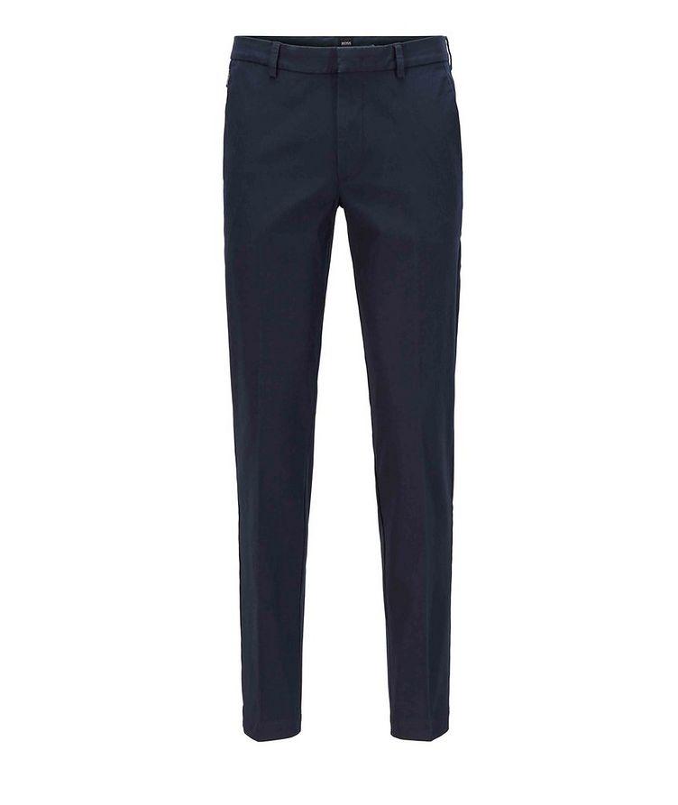 Slim Fit Travel Stretch-Twill Pants image 1