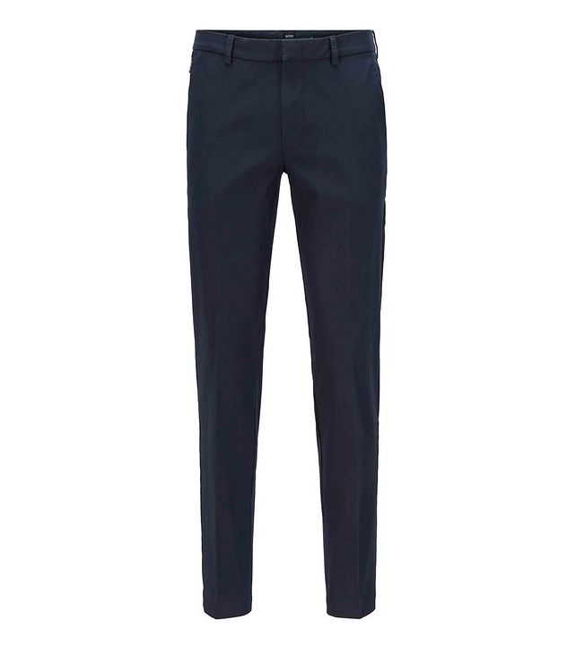 Slim Fit Travel Stretch-Twill Pants picture 2