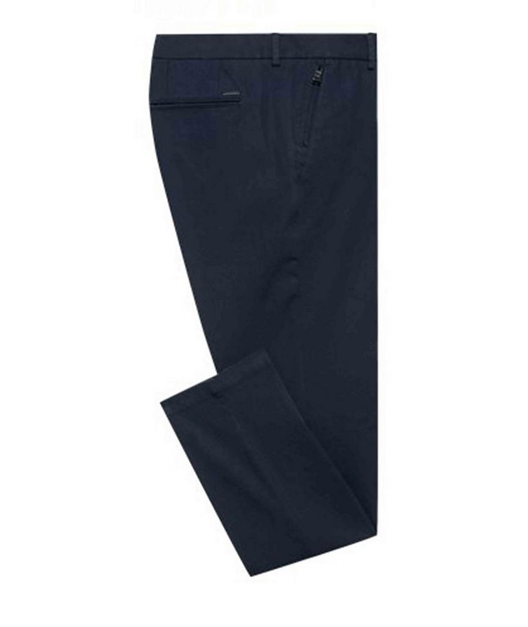 Slim Fit Travel Stretch-Twill Pants image 0