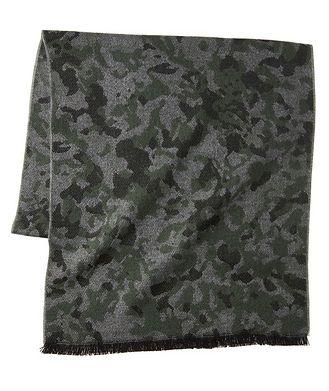 Harry Rosen Écharpe en lainage à motif camouflage