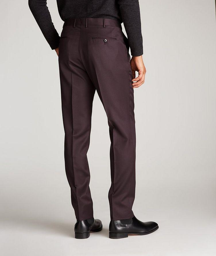 Slim Fit Wool-Silk Dress Pants image 2