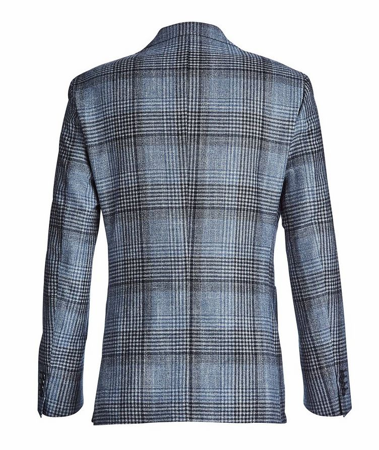 Checked Wool, Silk, and Cashmere Sports Jacket image 1