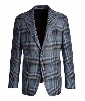 Atelier Munro Checked Wool, Silk, and Cashmere Sports Jacket