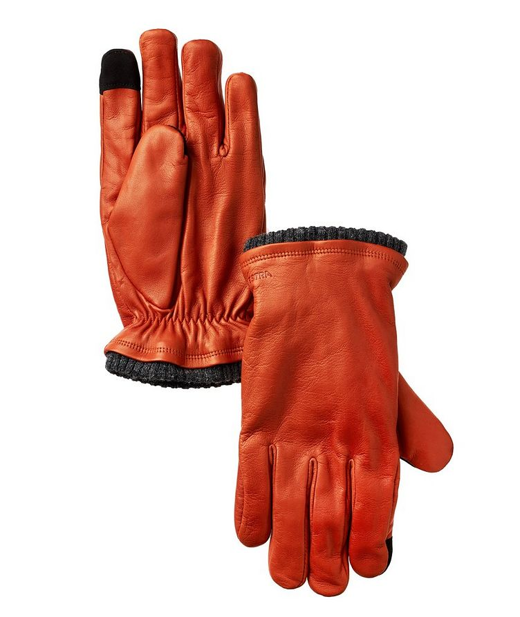 Hair Sheep Leather Primaloft Touchscreen Gloves image 0