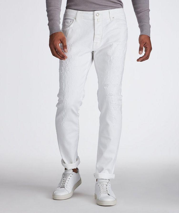 Slim Fit Five Pocket Pants image 0