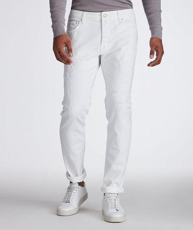 Slim Fit Five Pocket Pants picture 1