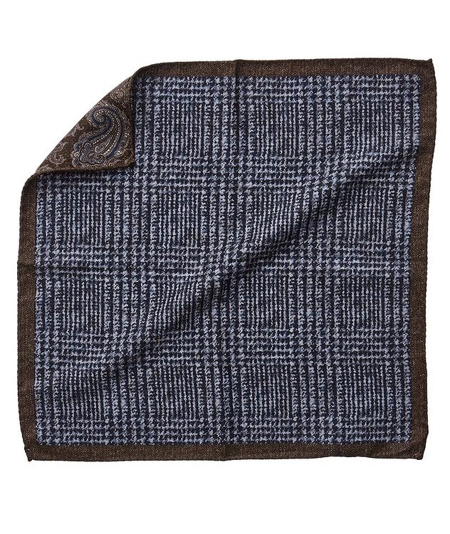 Reversible Silk Pocket Square picture 1
