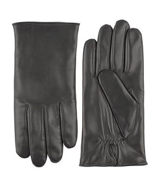 Hestra Hand Sewn Hair Sheep Leather Cashmere Gloves