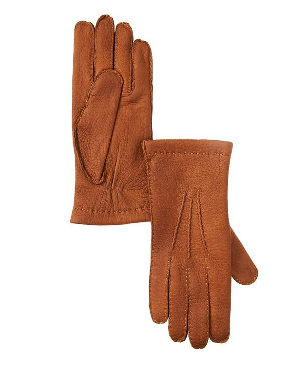 Leather & Cashmere Gloves  picture 1