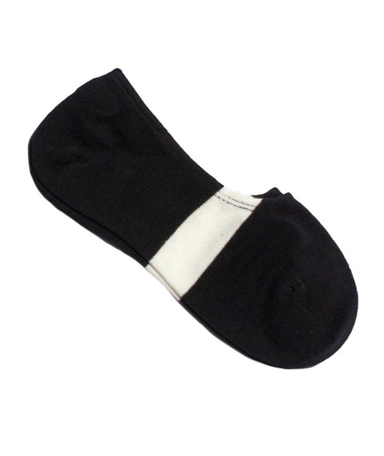 No-Show Cotton-Blend Socks image 0