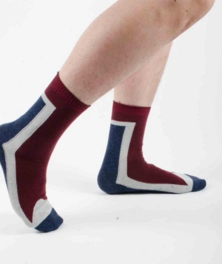 Stretch-Cotton Hi-Ankle Socks image 1