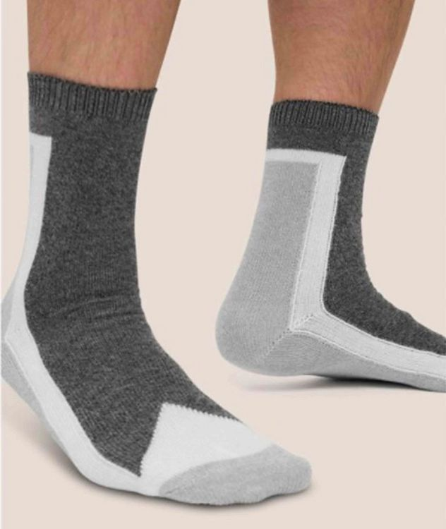 Stretch-Cotton Hi-Ankle Socks picture 2