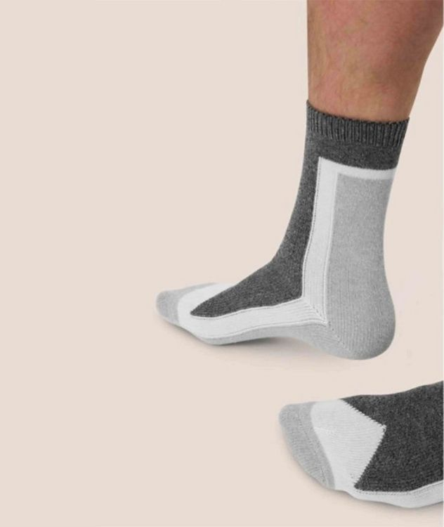 Stretch-Cotton Hi-Ankle Socks picture 4