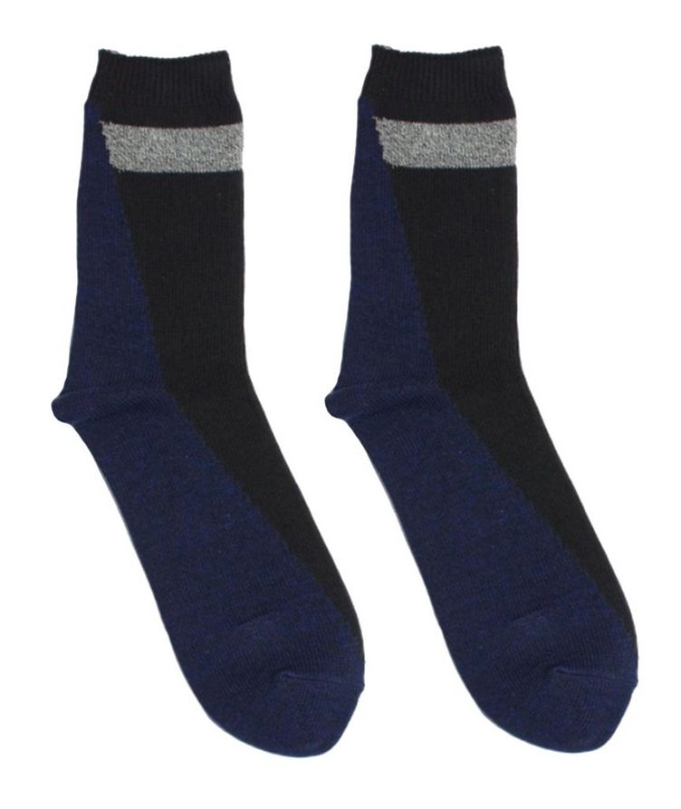 Stretch-Cotton Hi-Ankle Socks image 0