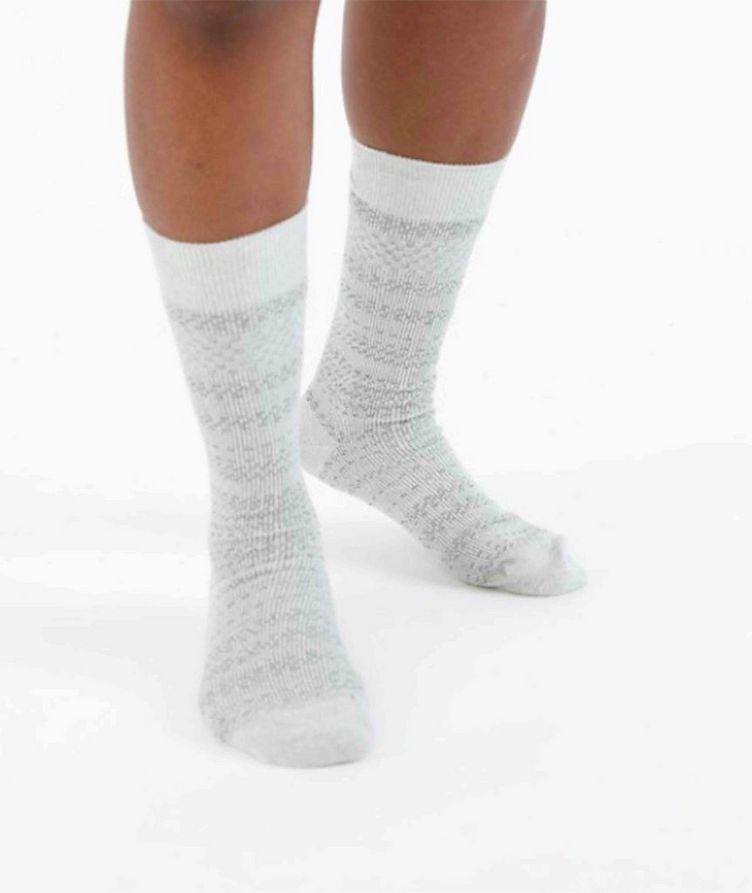 Cotton-Blend Mid-Calf Socks image 1