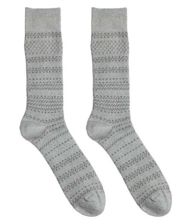 Cotton-Blend Mid-Calf Socks picture 1