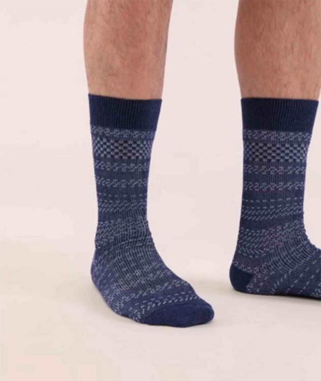Cotton-Blend Mid-Calf Socks picture 3