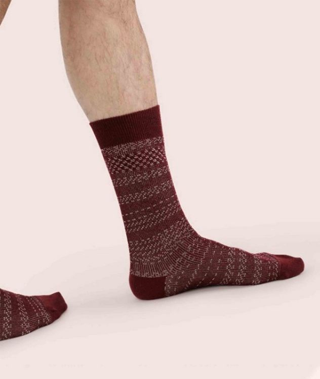 Cotton-Blend Mid-Calf Socks picture 2
