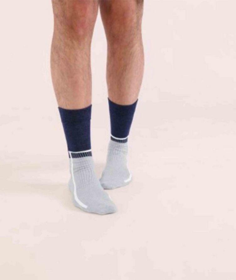 Cotton-Blend Mid-Calf Socks image 2