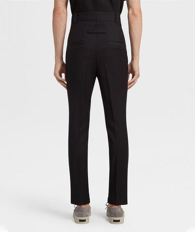 Pantalon en laine de coupe ajustée picture 3