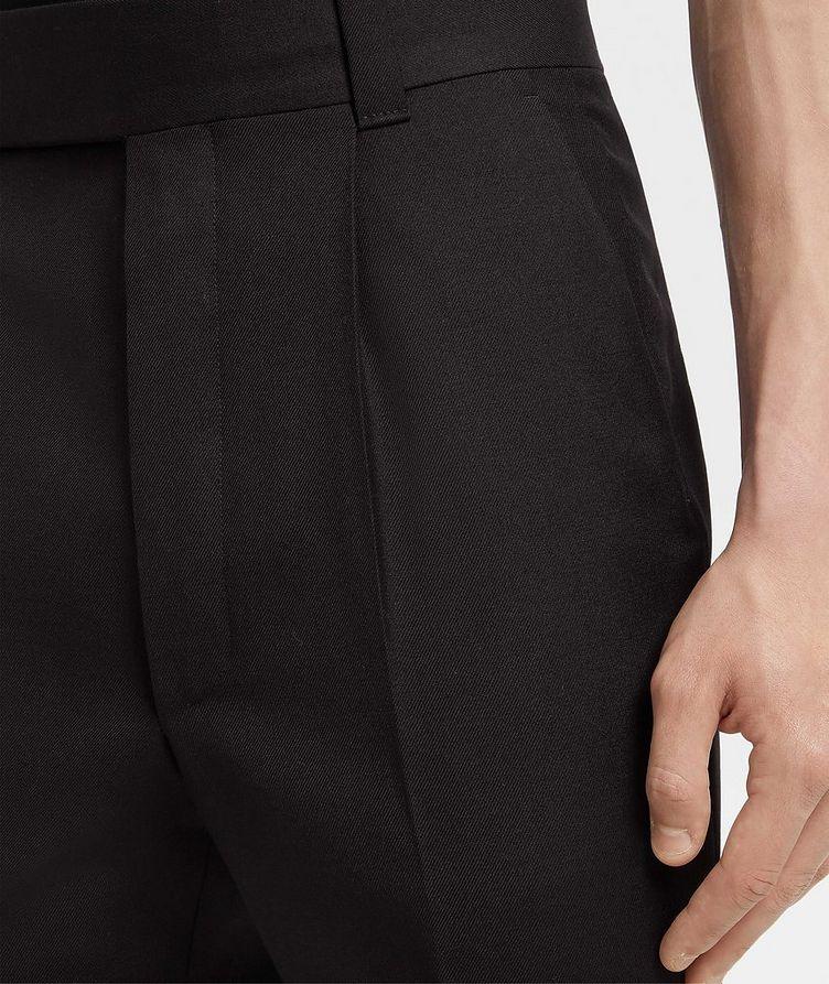 Pantalon en laine de coupe ajustée image 3
