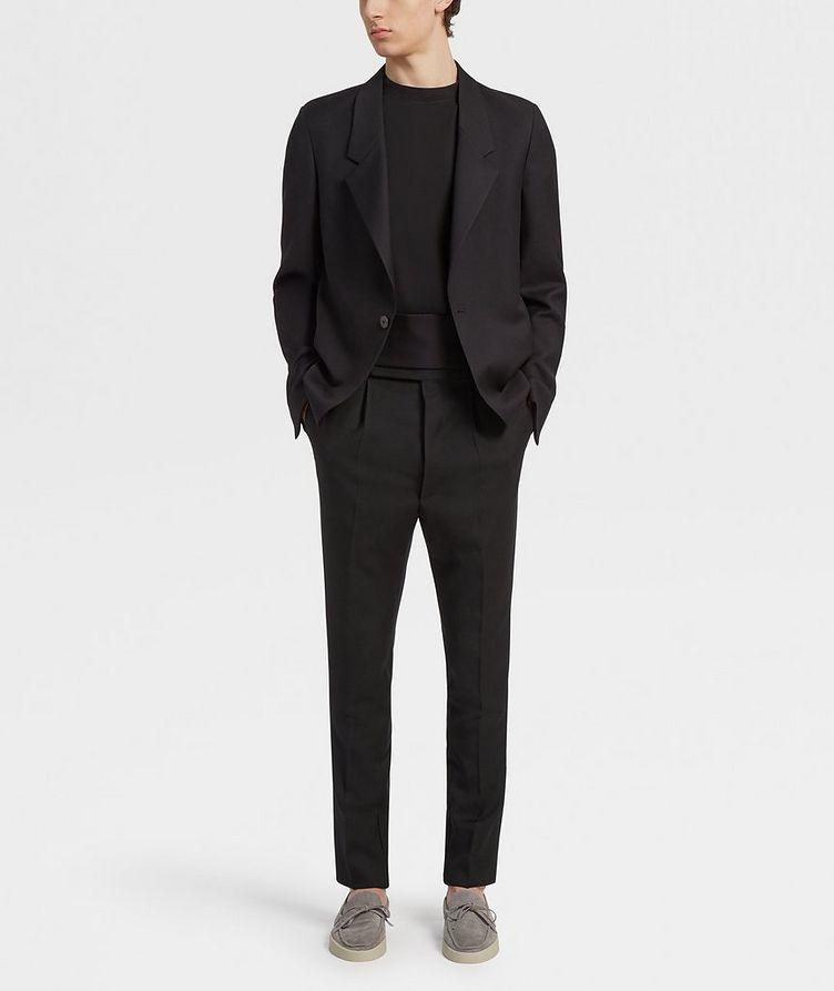 Pantalon en laine de coupe ajustée image 4