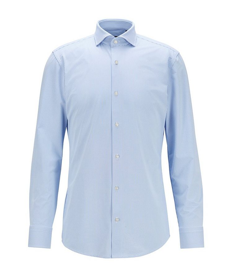 Slim Fit Performance-Stretch Dress Shirt image 0