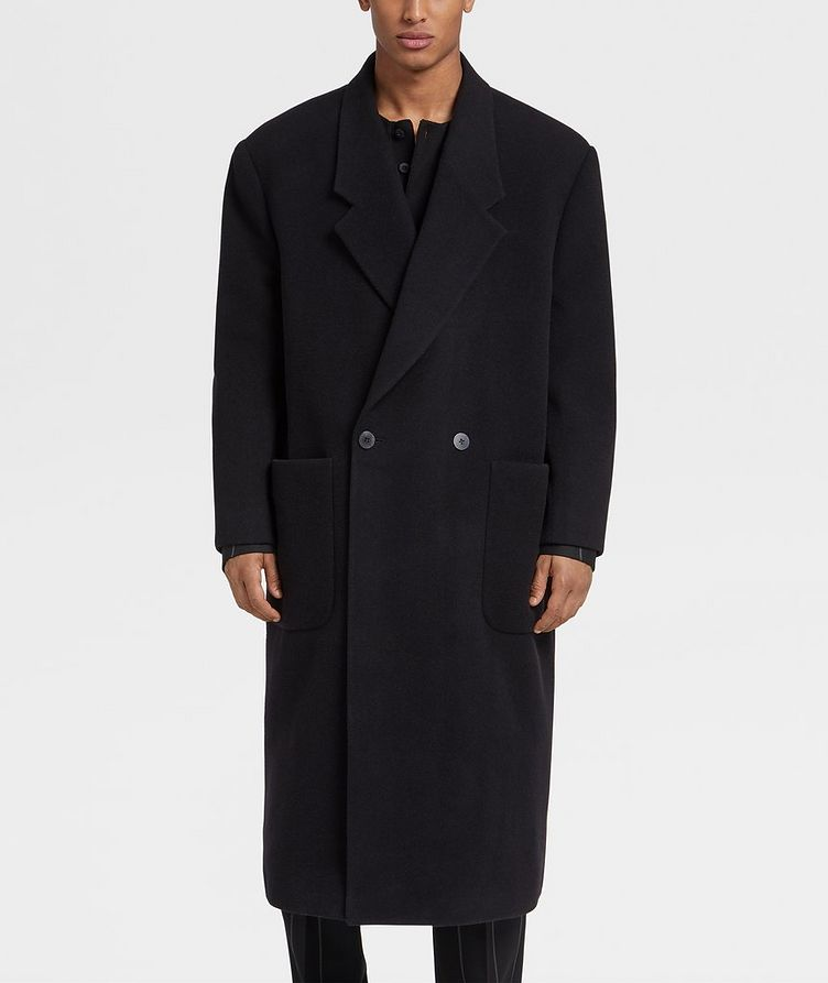Double-Breasted Wool Coat image 1
