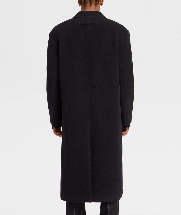 Double-Breasted Wool Coat image 2