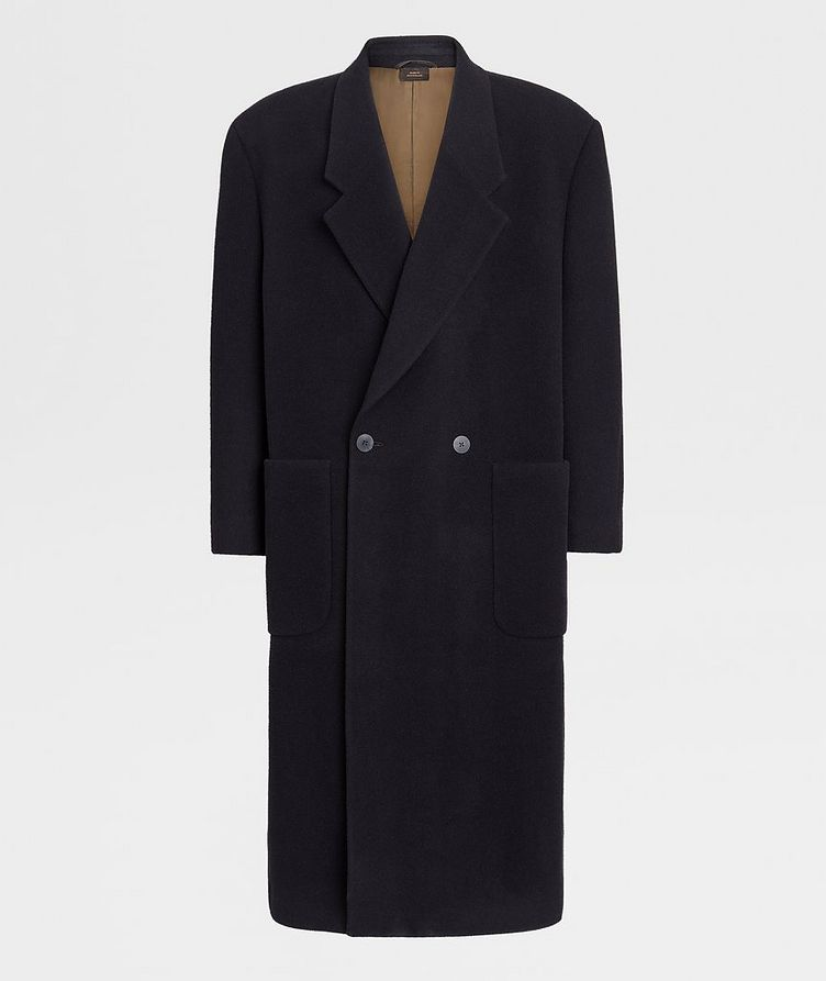 Double-Breasted Wool Coat image 0