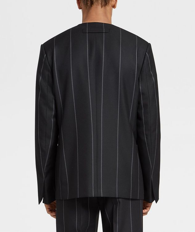 Striped Wool Sports Jacket picture 3