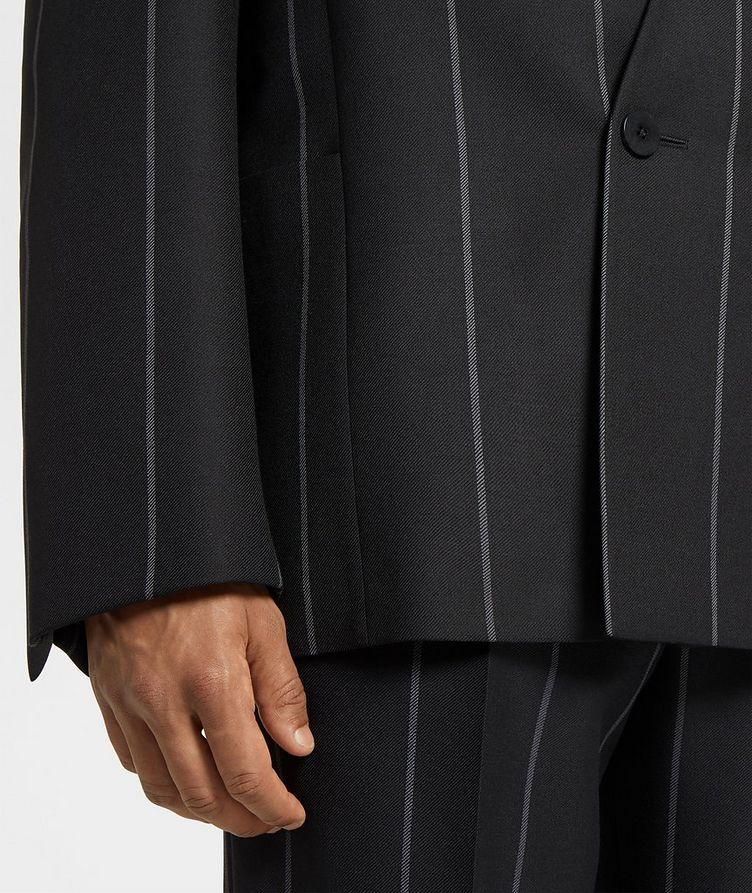Striped Wool Sports Jacket image 3