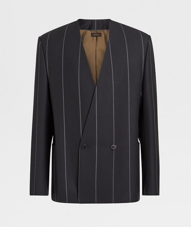 Striped Wool Sports Jacket picture 1