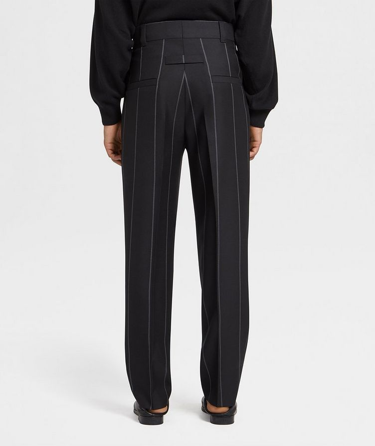 Pinstriped Dress Pants image 1