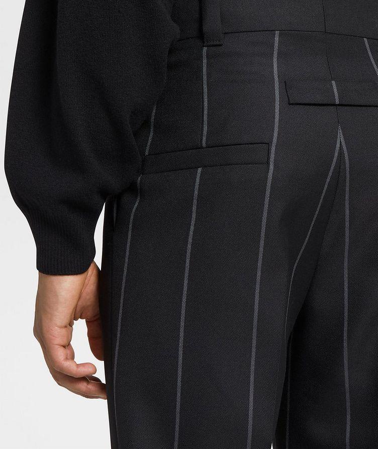 Pinstriped Dress Pants image 2