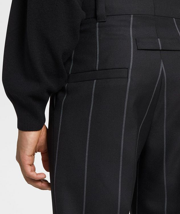 Pinstriped Dress Pants picture 3