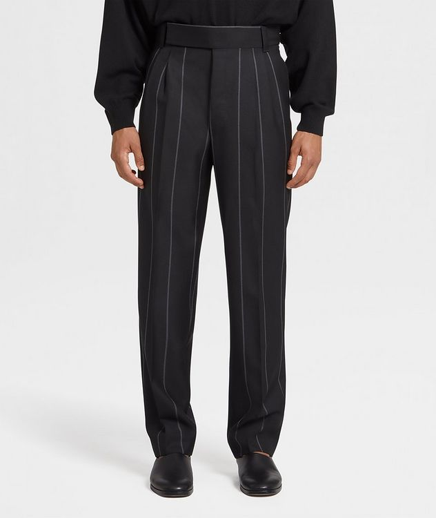 Pinstriped Dress Pants picture 1