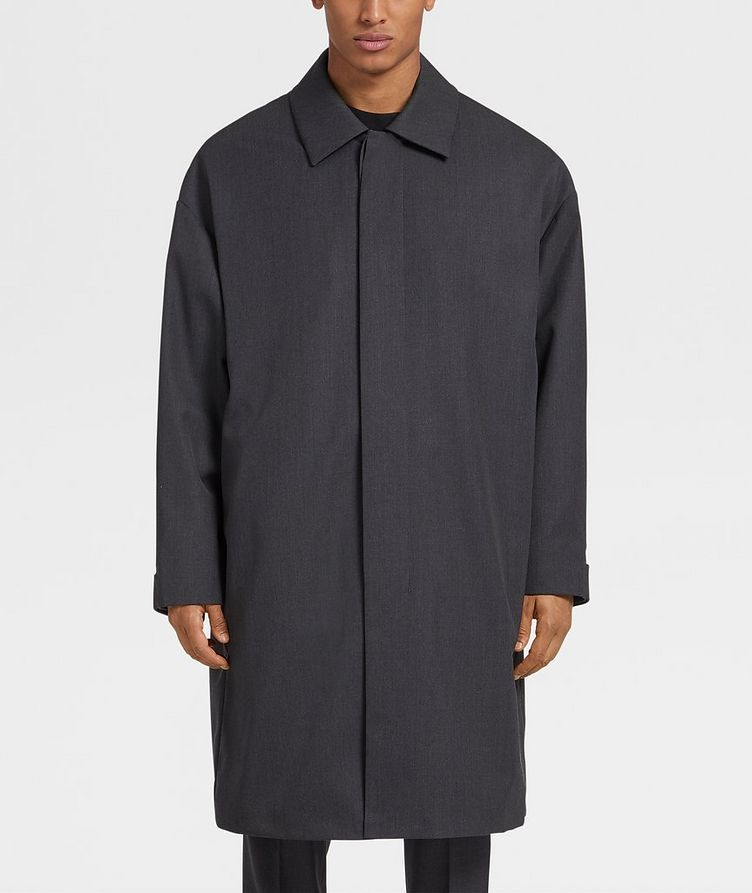 Wool Trench Coat image 1