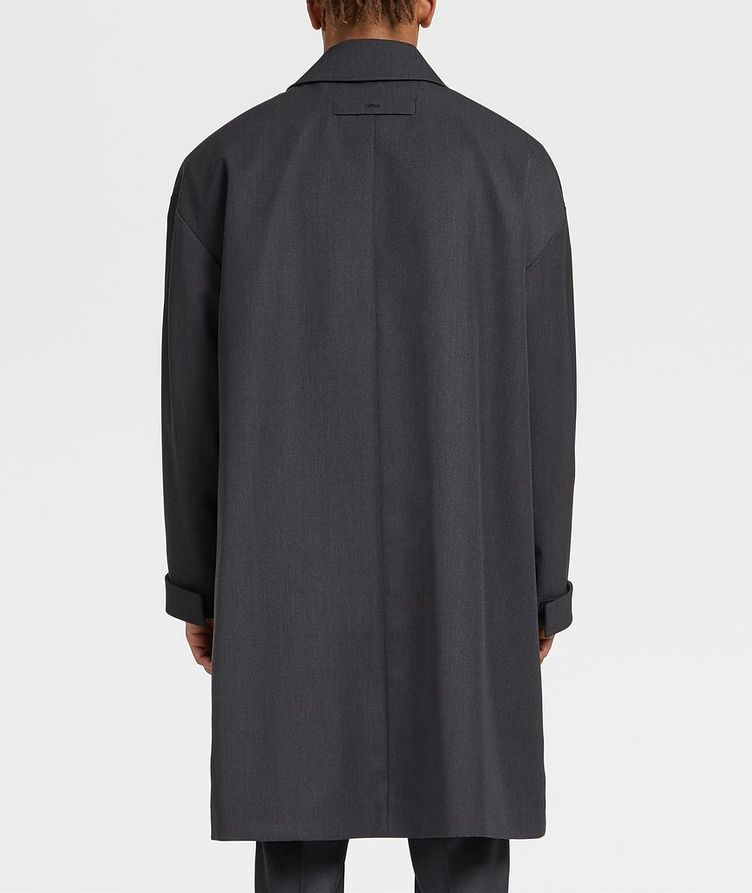 Wool Trench Coat image 2