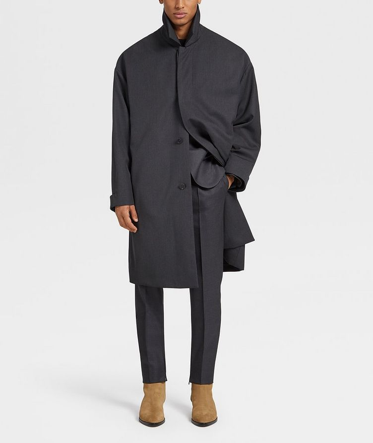 Wool Trench Coat image 4