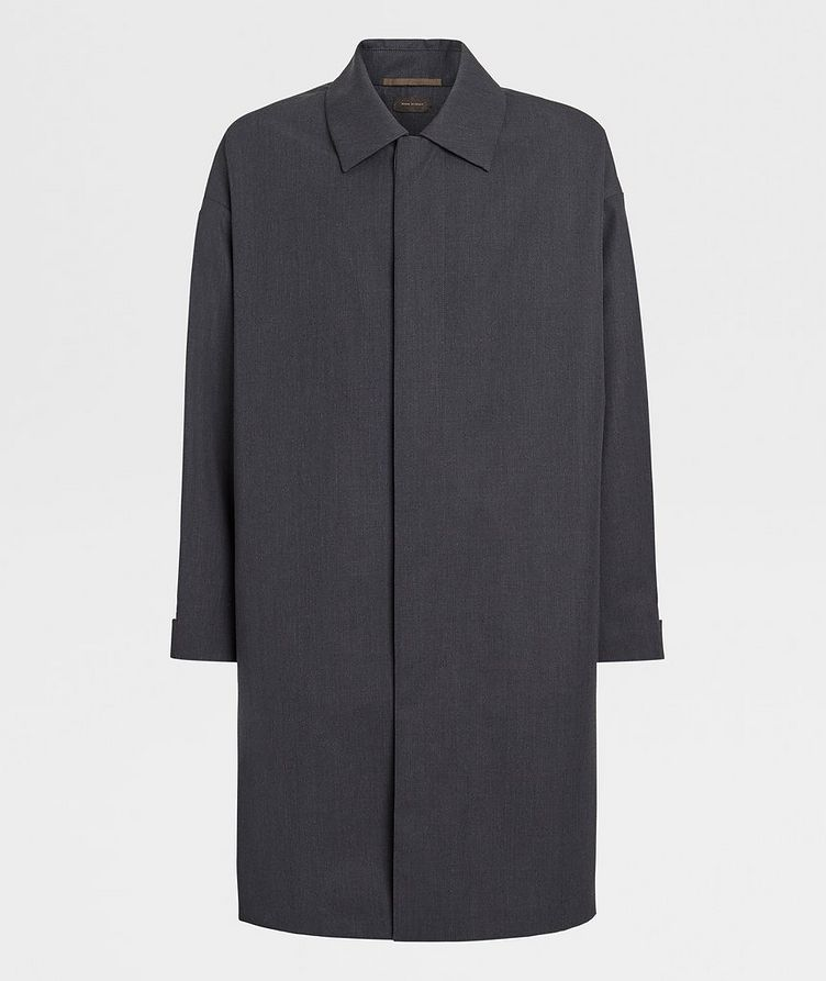 Wool Trench Coat image 0
