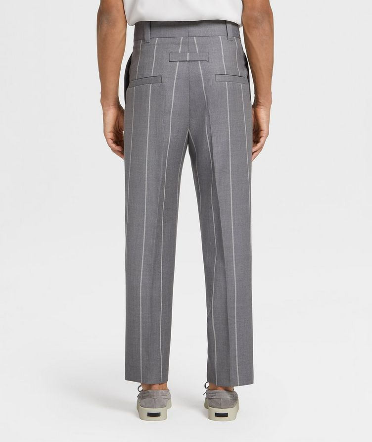 Pinstriped Dress Pants image 1