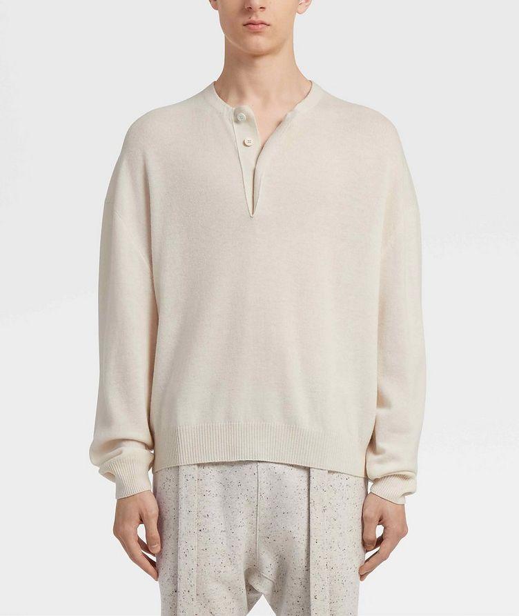 Pull en tricot de laine image 1