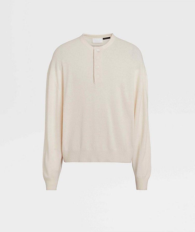Pull en tricot de laine image 0