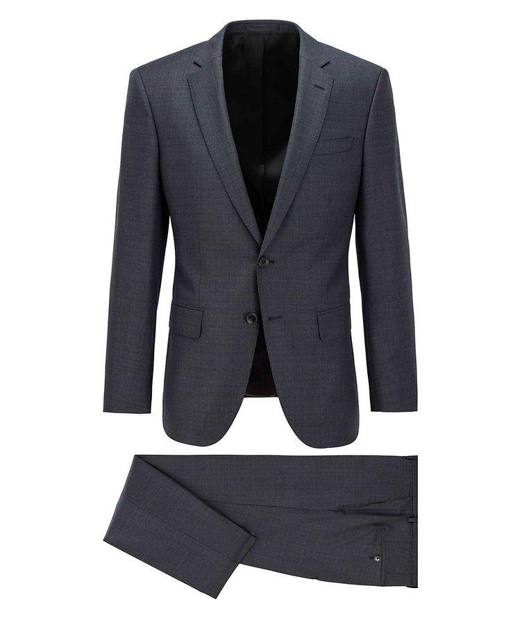 Huge6/Genius5 Slim-Fit Checked Wool Suit image 0