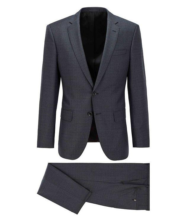 Huge6/Genius5 Slim-Fit Checked Wool Suit picture 1