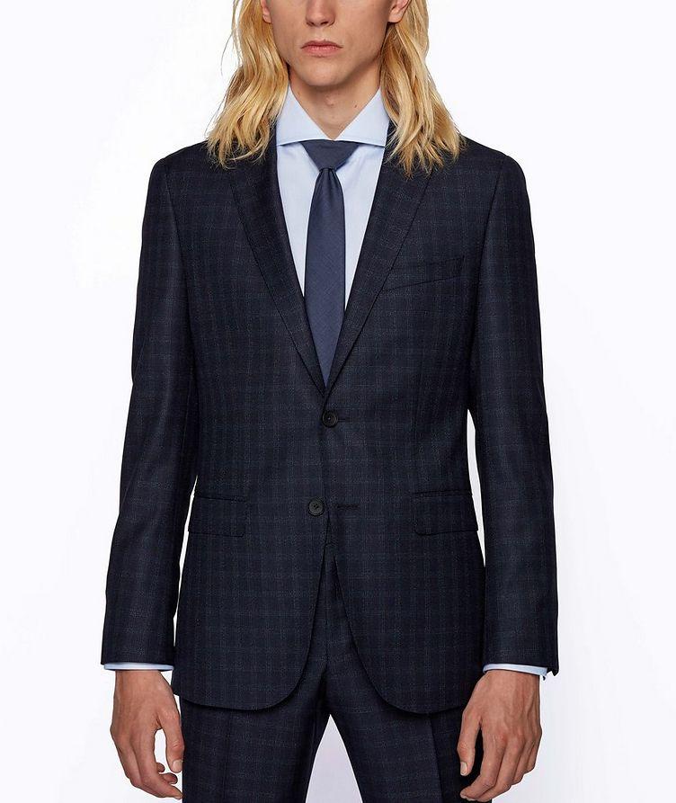 Novan6/Ben2 Checked Wool Suit image 1