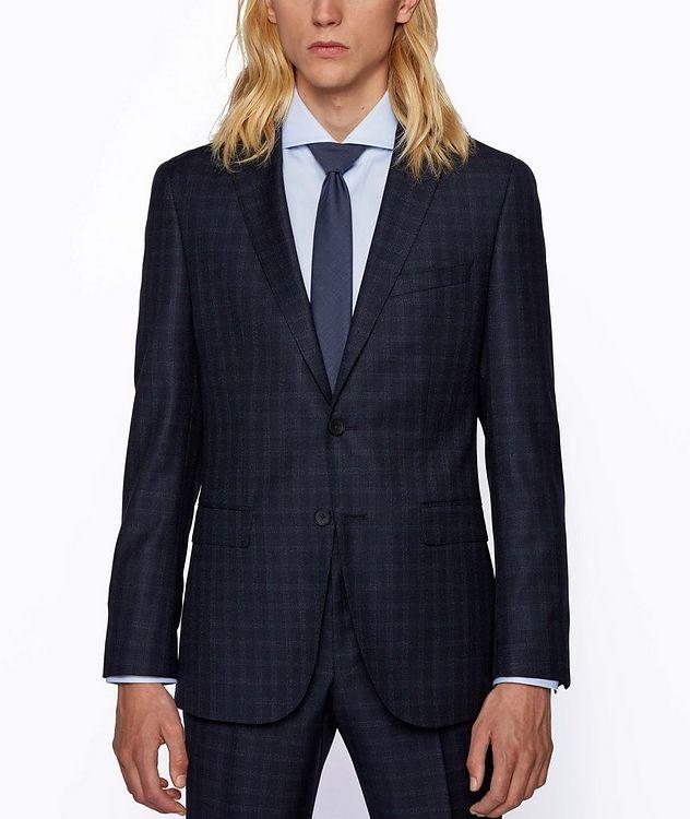 Novan6/Ben2 Checked Wool Suit picture 2