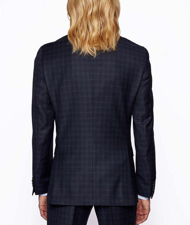 Novan6/Ben2 Checked Wool Suit picture 3